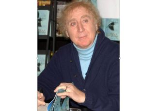 Gene Wilder at a Los Angeles book store in 2007.