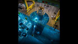 The Blue Abyss pool will have a 164-foot-deep (50 meters) shaft to simulate microgravity conditions.