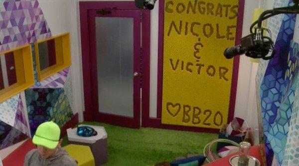 Big brother Nicole And Victor