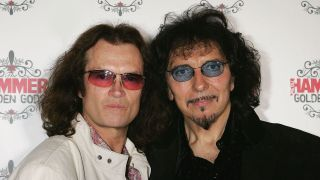 Glenn Hughes and Tony Iommi in 2005