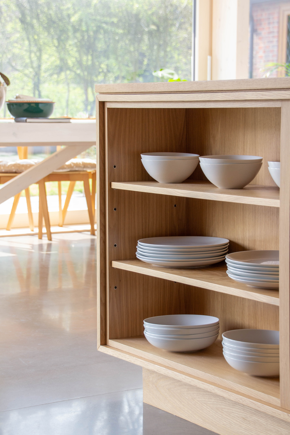 KITCHEN TREND: NATURAL TIMBER