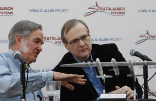 Paul Allen and Burt Rutan