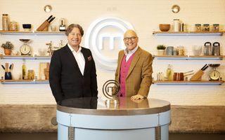 John Torode and Gregg Wallace on Celebrity MasterChef 2021