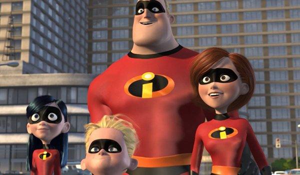 Incredibles 2 family shot