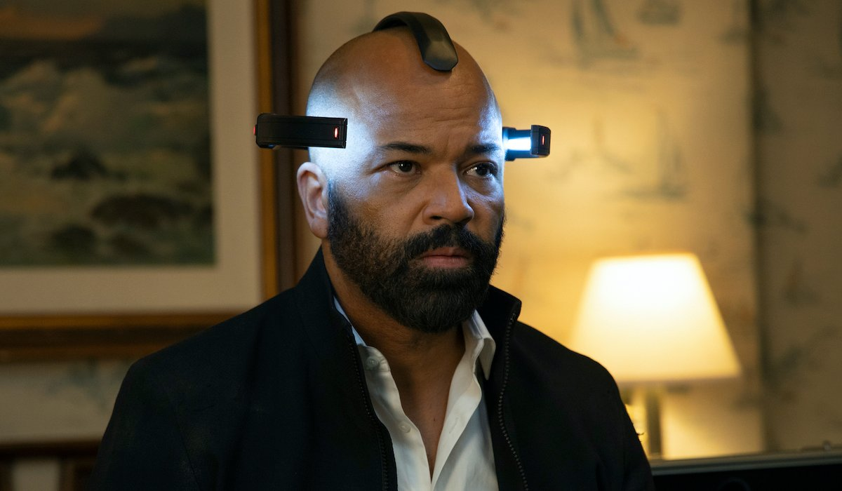 bernard in the sublime headset westworld season 3 finale