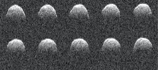 Radar Images of Asteroid Bennu