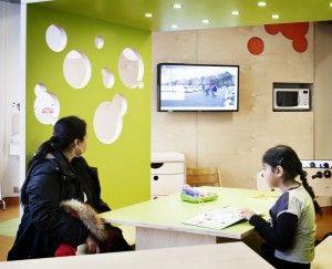 Scala's Healthcare Info-TV in Copenhagen