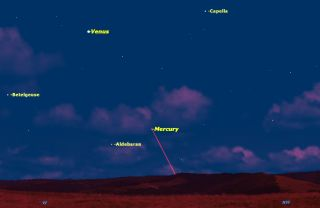 On the evening of Thursday, May 7, Mercury was at its farthest from the sun for 2015. The next week is the best time of the year to see Mercury from the Northern Hemisphere.