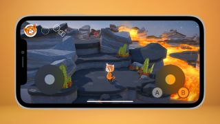 iOS 15 virtual controller