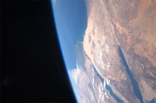 Earth is the only planet in our solar system where the atmosphere contains oxygen, allowing Earth to support human life.