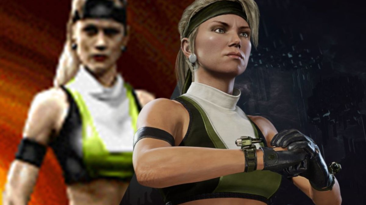 Mortal Kombat 11's Sonya is getting an MK3-inspired throwback outfit today
