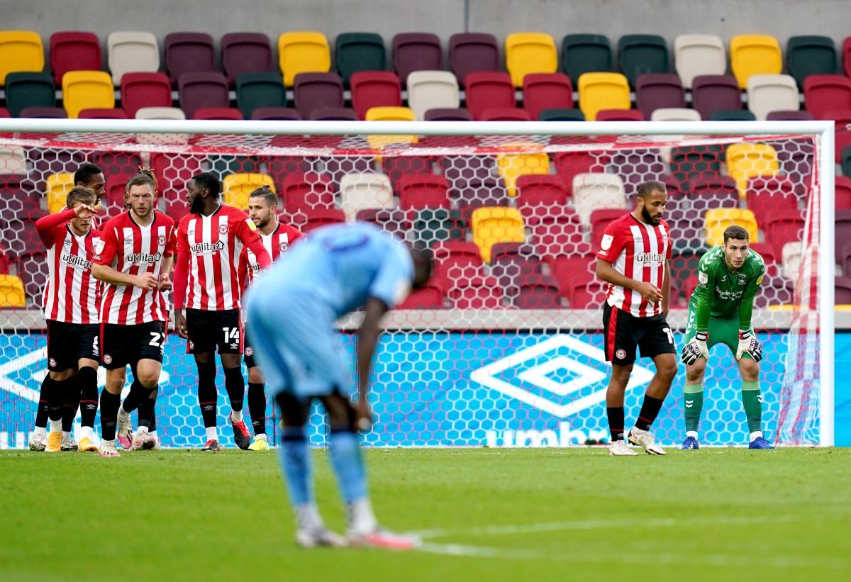 Ivan Toney at the double as Brentford beat Coventry ...