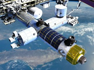 Axiom's first space station module