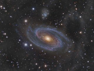Grand Spiral Galaxy M81 and Arp's Loop Miller 2013