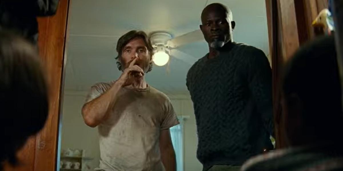 Cillian Murphy and Djimon Hounsou in Quiet Place Part 2