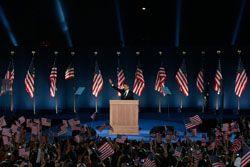 Lighting the President-Elect