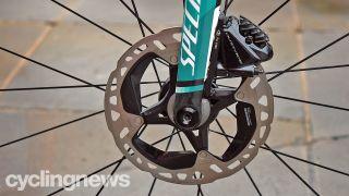 Mountain bike rotors at the tour de france