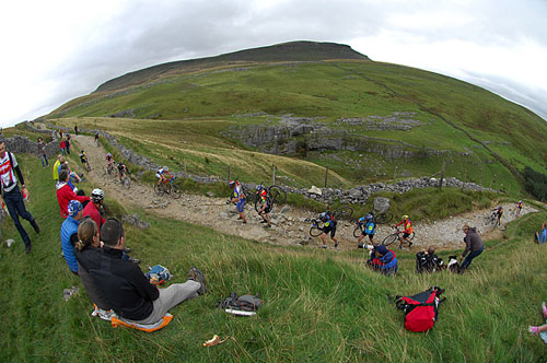 Pen-y-Ghent, Three Peaks cyclo-cross 2009