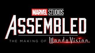 Marvel Studios Assembled promo poster.