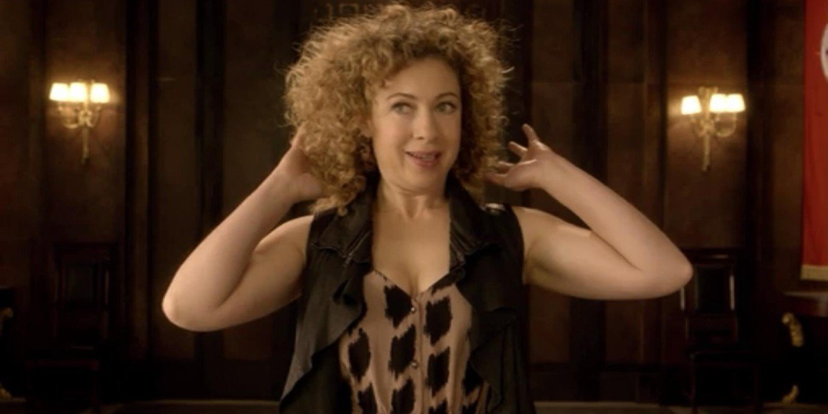 River Song Doctor Who BBC America