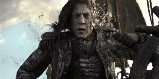 javier bardem hair in pirates of the caribbean 5