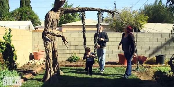 This Groot Swing Set Will Make You Wish You Were A Kid Again