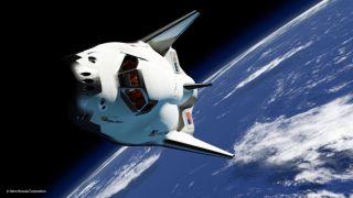 Sierra Nevada's Dream Chaser Spacecraft in Orbit