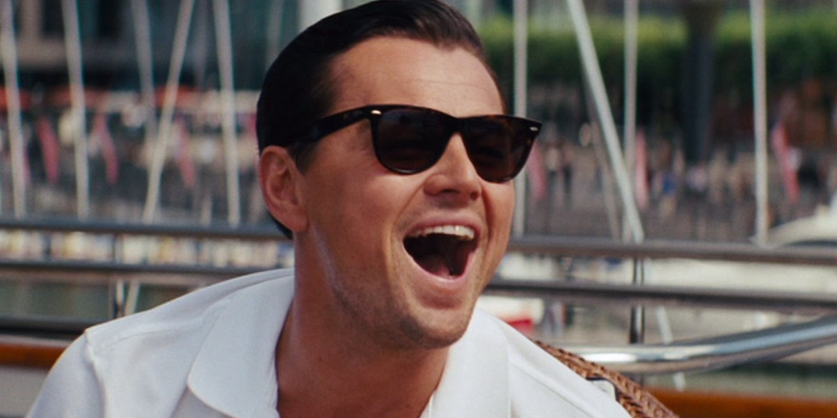 Leo is the Wolf of Wall Street
