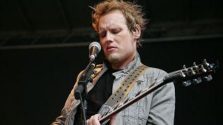Matt Roberts performing with 3 Doors Down, 2011
