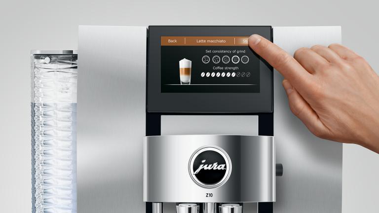 I tried this high-end Jura Z10 coffee machine