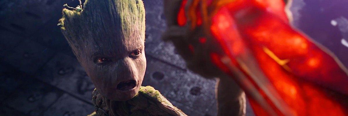 Groot in Avengers: Infinity War