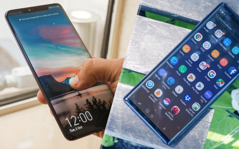 4e37edabb Huawei Mate 20 Pro vs. Galaxy Note 9: Which Big-Screen Phone Should You  Buy? | Tom's Guide
