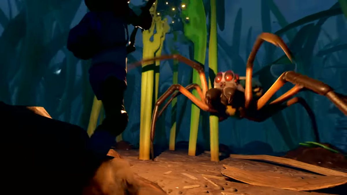 Grounded Arachnophobia mode lets you turn spiders into legless ...