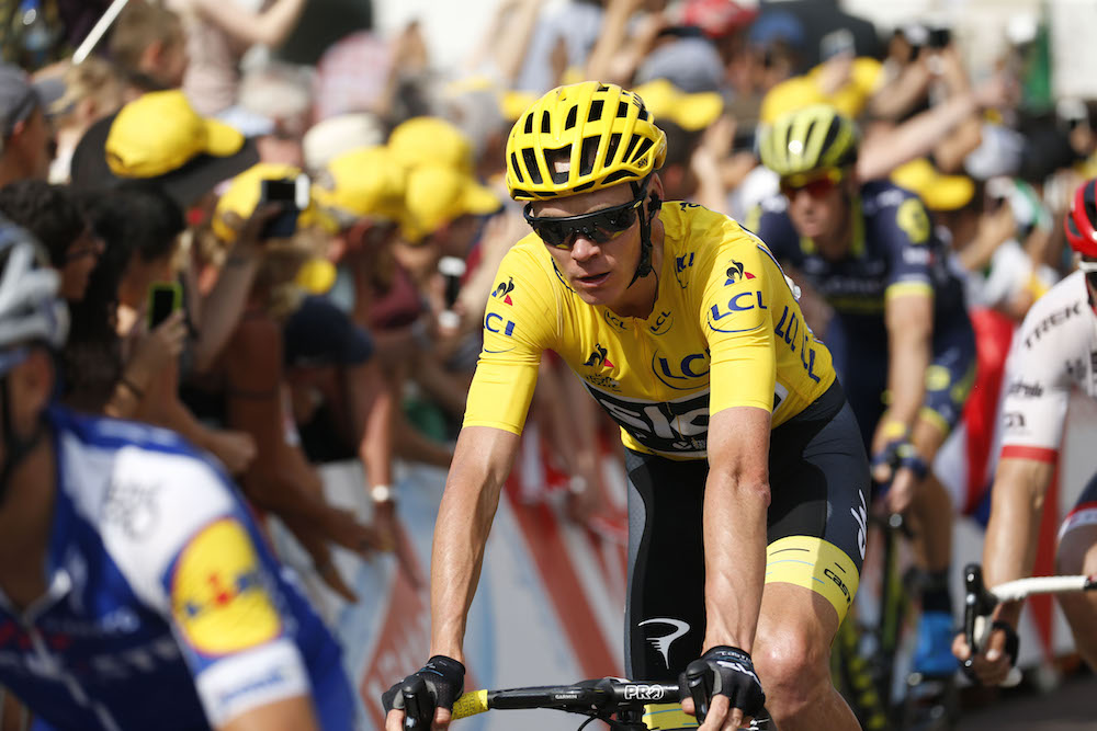 Chris Froome expecting a  savage day  on Tour de France s second summit  finish - Cycling Weekly e434c4571