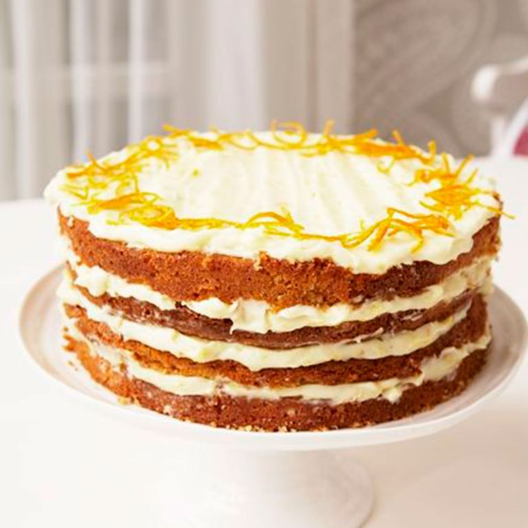mary berry orange layer cake photo