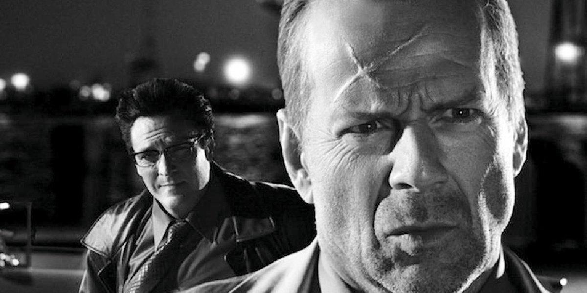 Bruce Willis in Sin City.