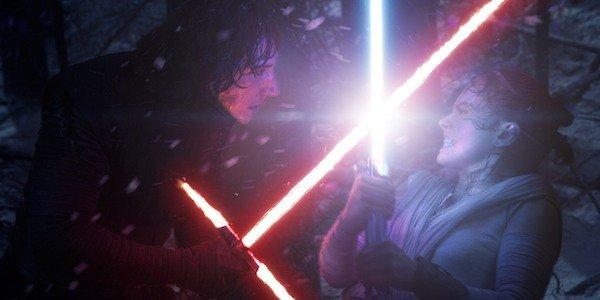Kylo Ren vs Rey The Force Awakens Star Wars