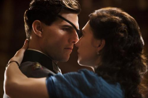 Valkyrie - Tom Cruise as Colonel Claus von Stauffenberg & Carice van Houten as Nina von Stauffenberg