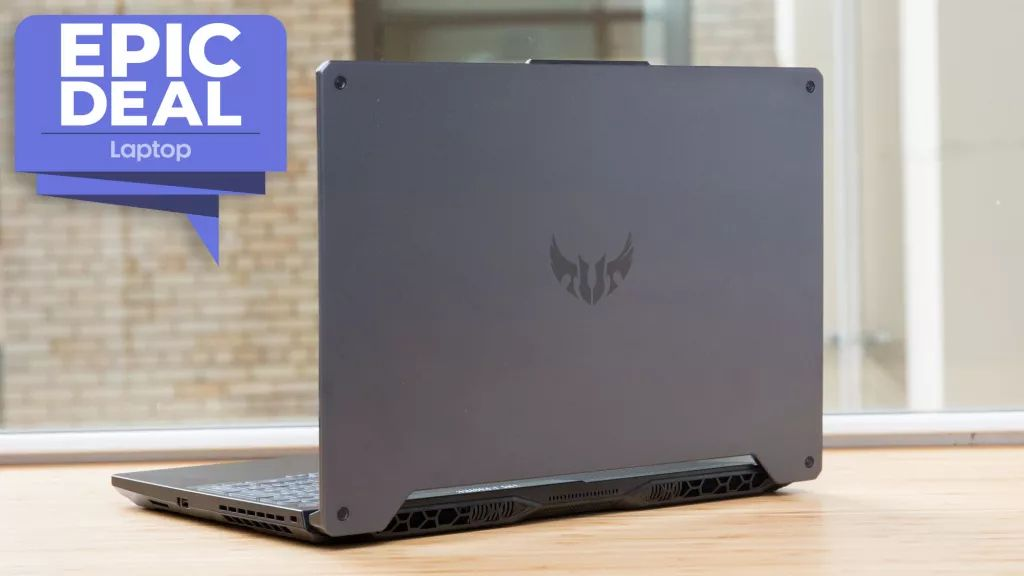 Game on! Get this Asus TUF A15 gaming laptop with RTX 2060 GPU for just £869