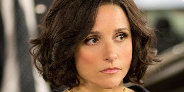 Julia Louis-Dreyfus serious Veep