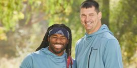 Why The Amazing Race's Former NFL Stars Are Going To 'Butt Heads' In Season 32