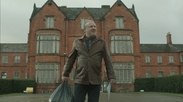 Ray Winstone leaves prison in The Trials of Jimmy Rose