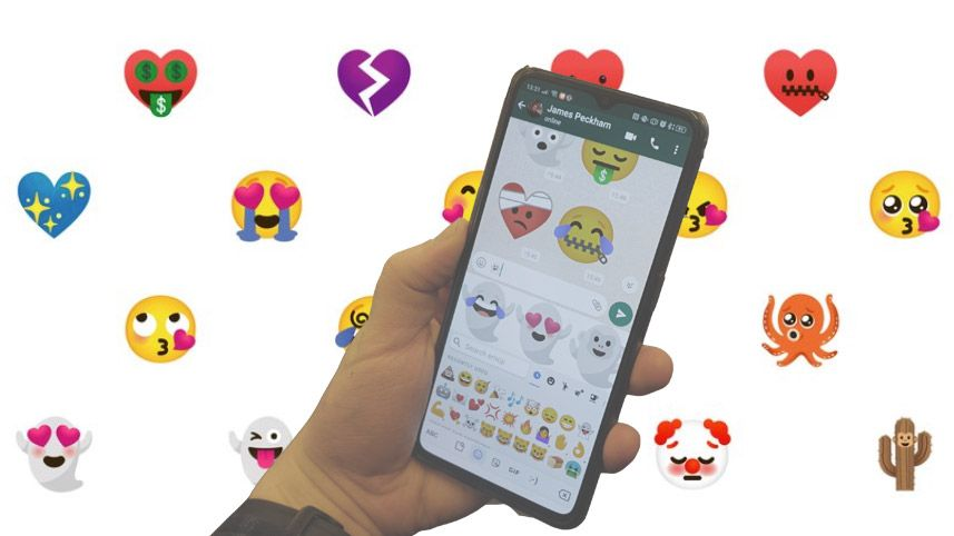 You can now create your own custom emoji on Android phones