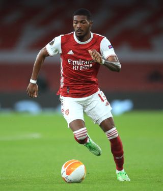Ainsley Maitland-Niles was delighted to play in front of Arsenal supporters once again.