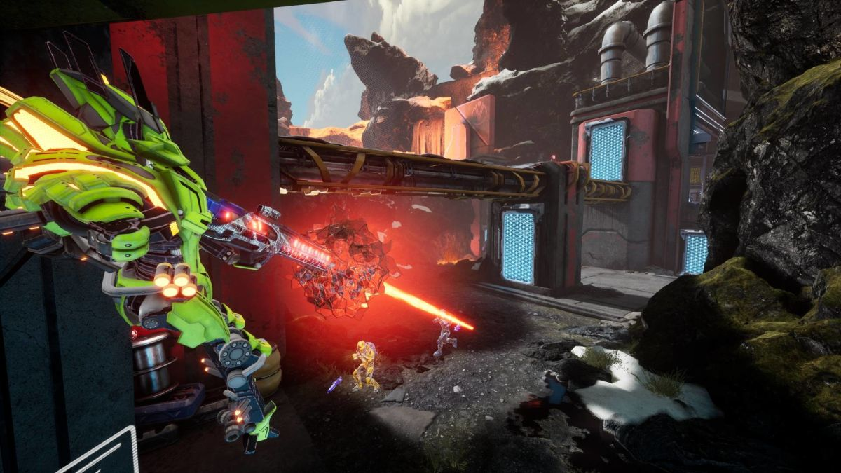 Splitgate's final release is delayed while studio revamps server infrastructure