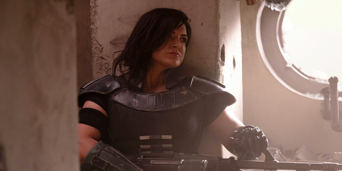 Gina Carano Responds To Being Fired From The Mandalorian, Announces New Project