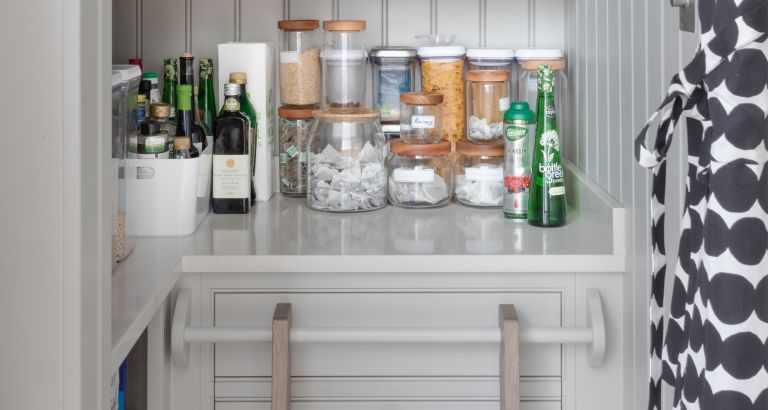 Under stairs pantry ideas