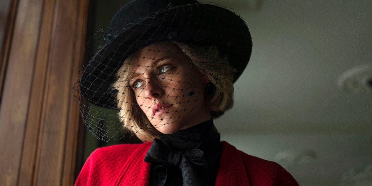 Kristen Stewart as Princess Diana of Wales in Spencer