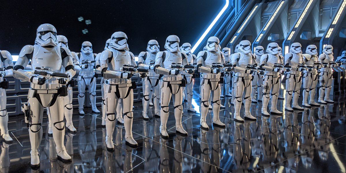 Star Wars: Rise Of The Resistance - 3 Cool Discoveries We Made Touring Galaxy's Edge - CINEMABLEND