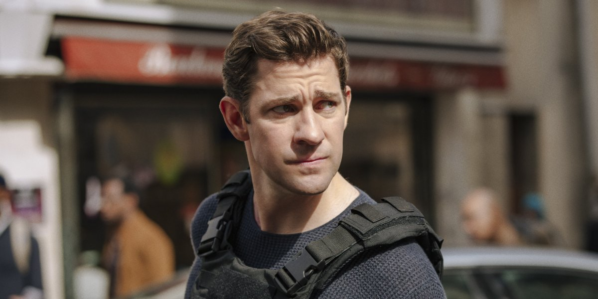 John Krasinski as Jack Ryan on Tom Clancy's Jack Ryan